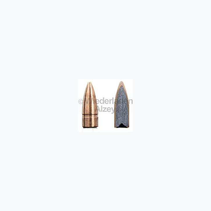 Sako Geschosse, .224, bzw. 5,7 mm, 50 grain / 3,2 Gramm, Speedhead-Full Metall Jacket, neutrale Verpackung, Art.-Nr.: 105G