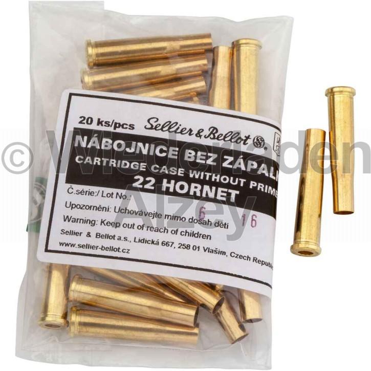 .22 Hornet Sellier & Bellot Hülsen
