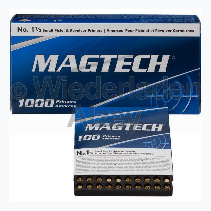 Magtech Zündhütchen, Small Pistol