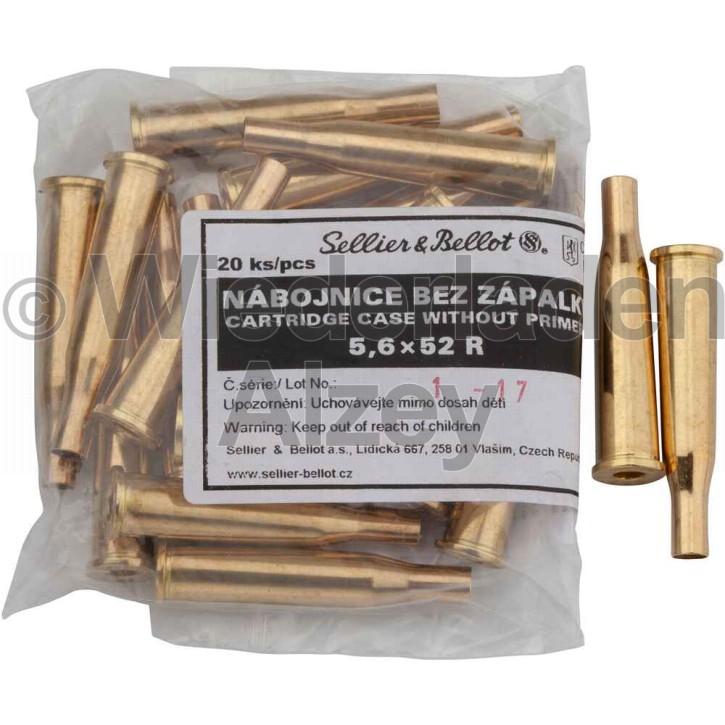 5,6 x 52 R Sellier & Bellot Hülsen