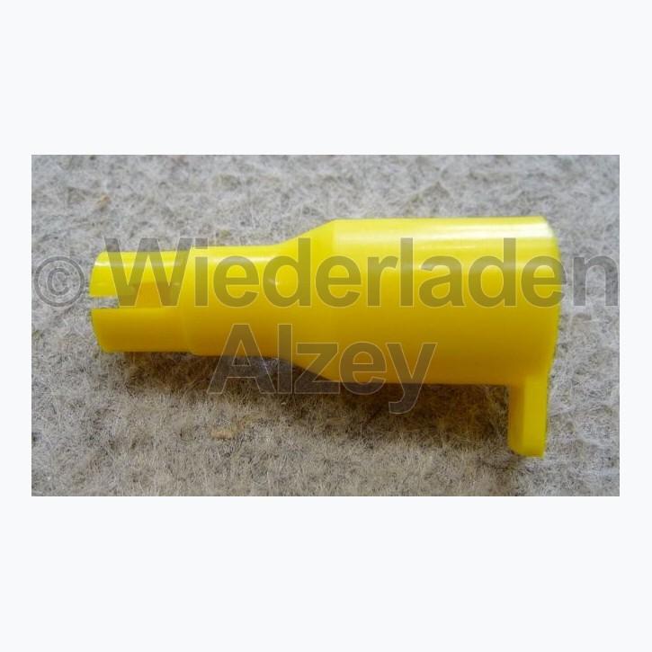 Dillon, Plastikspitze gelb, small, für Zündhütchenrohr, Art.-Nr.: 13999