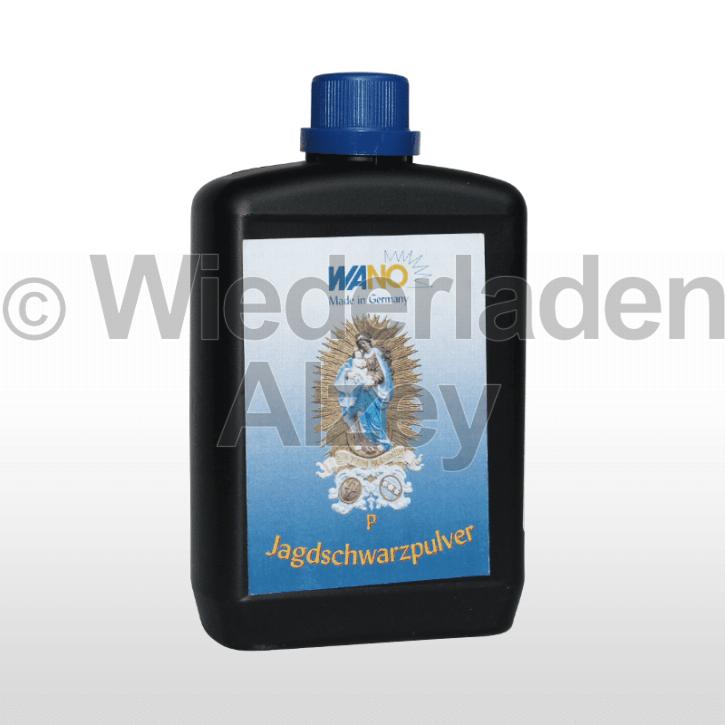 WANO-Schwarzpulver P, Dose mit 500 Gramm