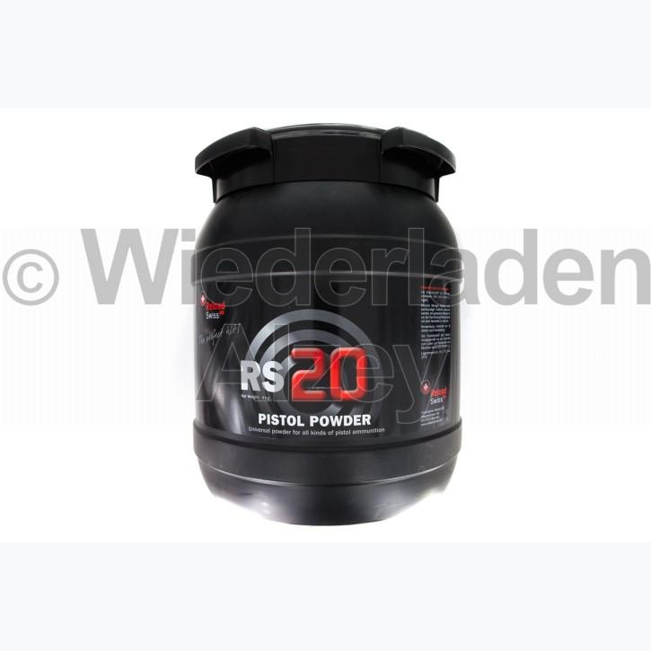 Reload Swiss RS20, Dose mit 4000 Gramm