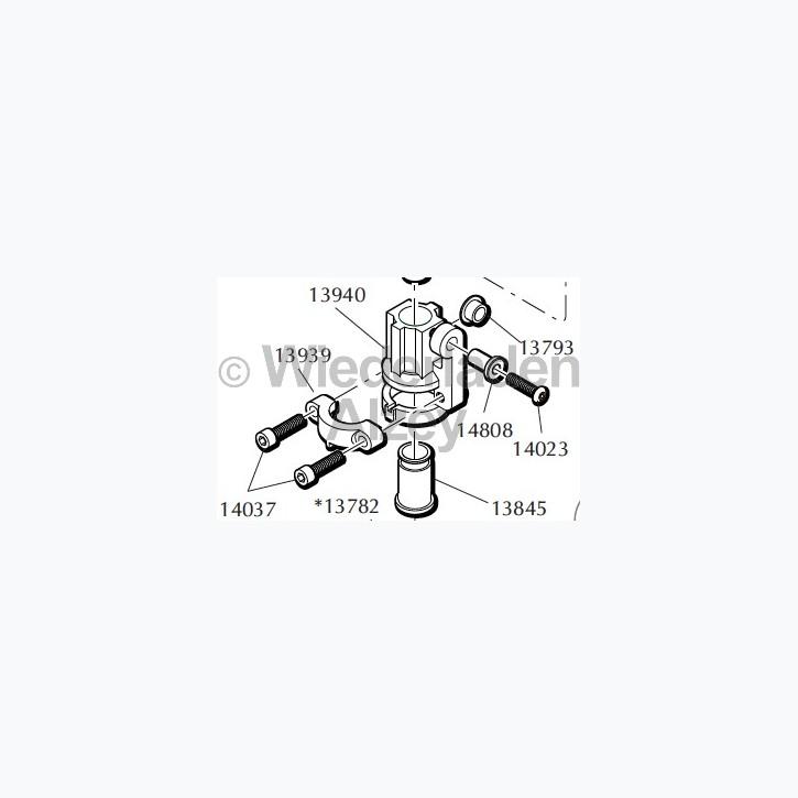 Dillon Matrizenmanschette, komplett (Connector Body Collar) für Pulverschieber, Art.-Nr.: 21275