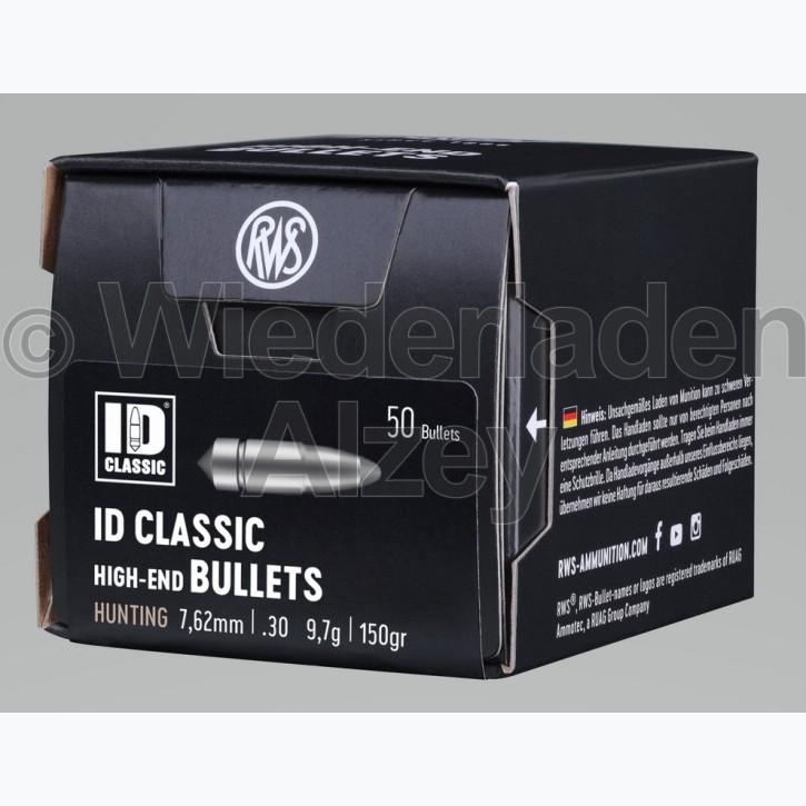 RWS Geschosse, .308, 150 grain, 9,7 g, ID-Classic