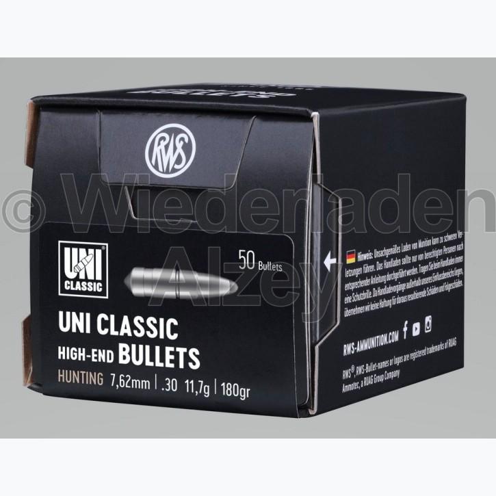 RWS Geschosse, .308, 181 grain, 11,7 g, UNI Classic