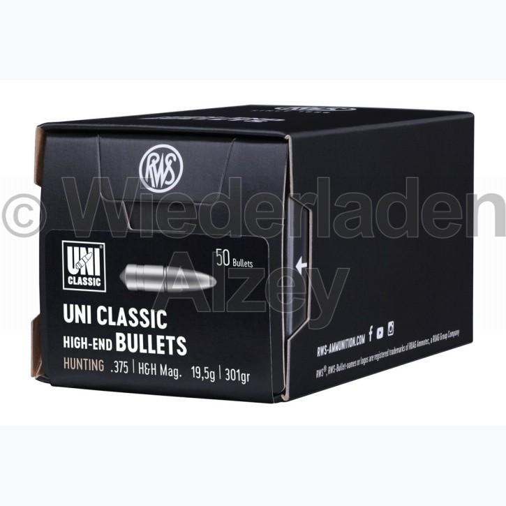 RWS Geschosse, .375, 301 grain, 19,5 g, UNI-Classic