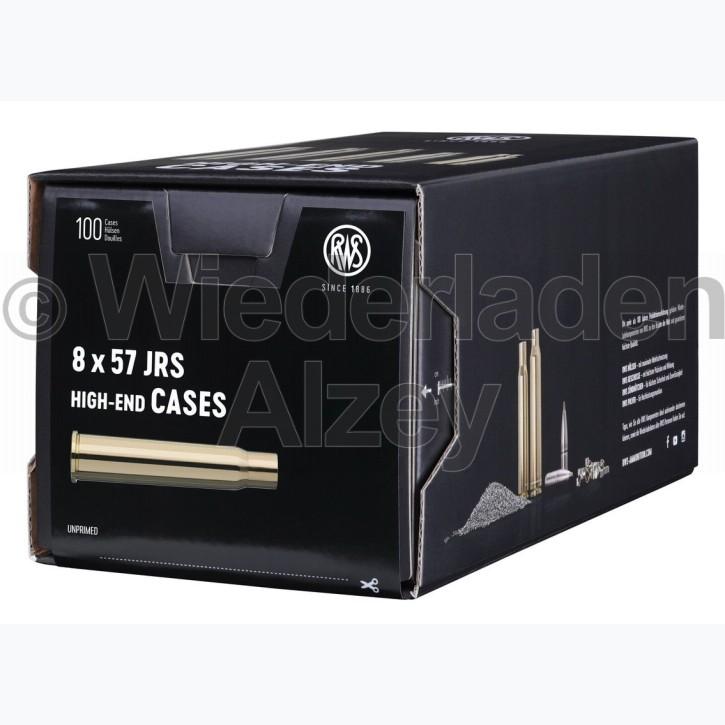 8 x 57 JRS RWS Hülsen, neutrale Verpackung