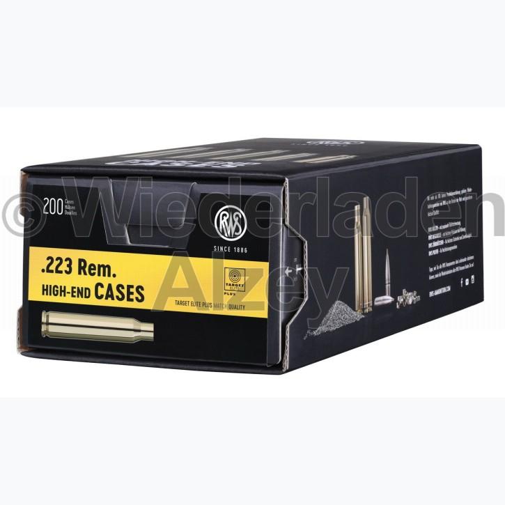 .223 Rem. RWS Hülsen, neutrale Verpackung