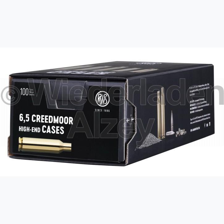 6,5 Creedmoor RWS Hülsen, neutrale Verpackung