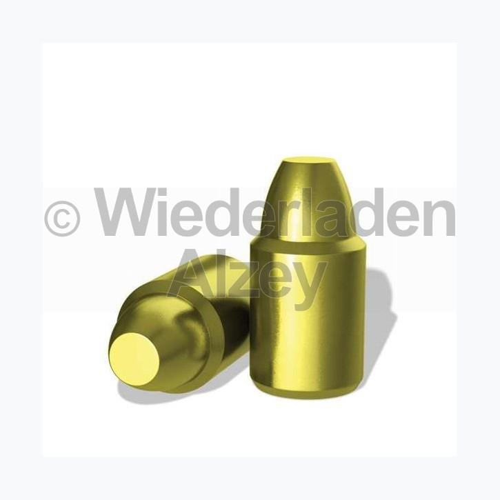 .357, 158 grain, H&N Geschosse, SWC, Kunststoff Gold