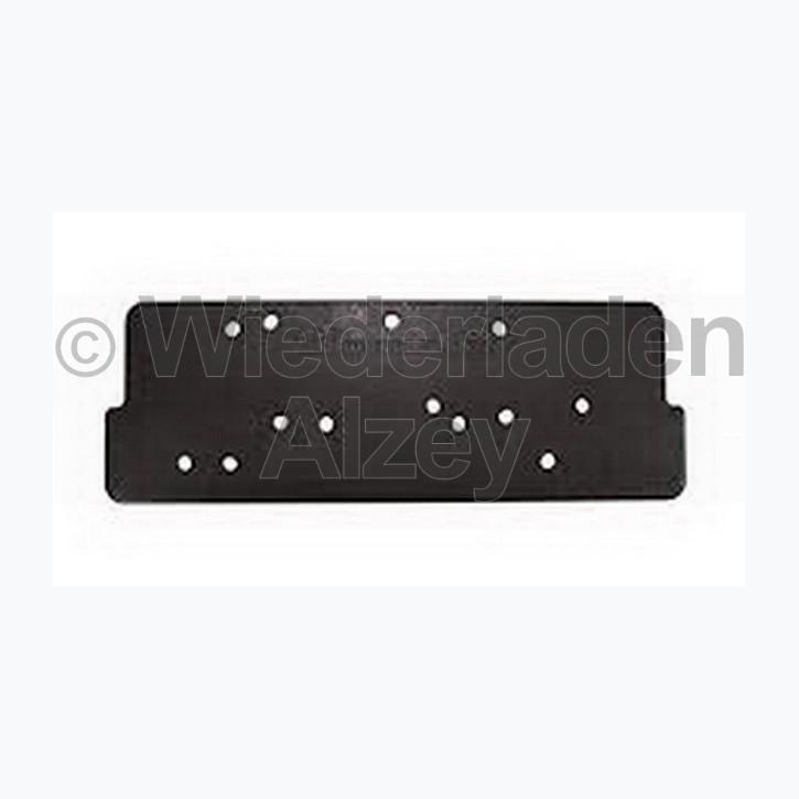Hornady, Detach Mounting Plate (Wiederlade-Schnellwechselbefestigungssystem), einzelne Grundplatte, Art.-Nr.: 399698