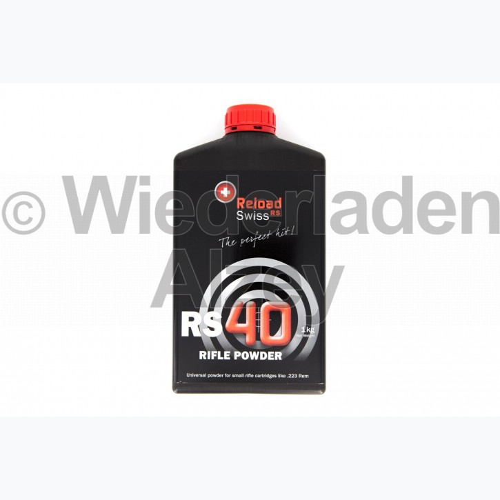 Reload Swiss RS40, Dose mit 1000 Gramm