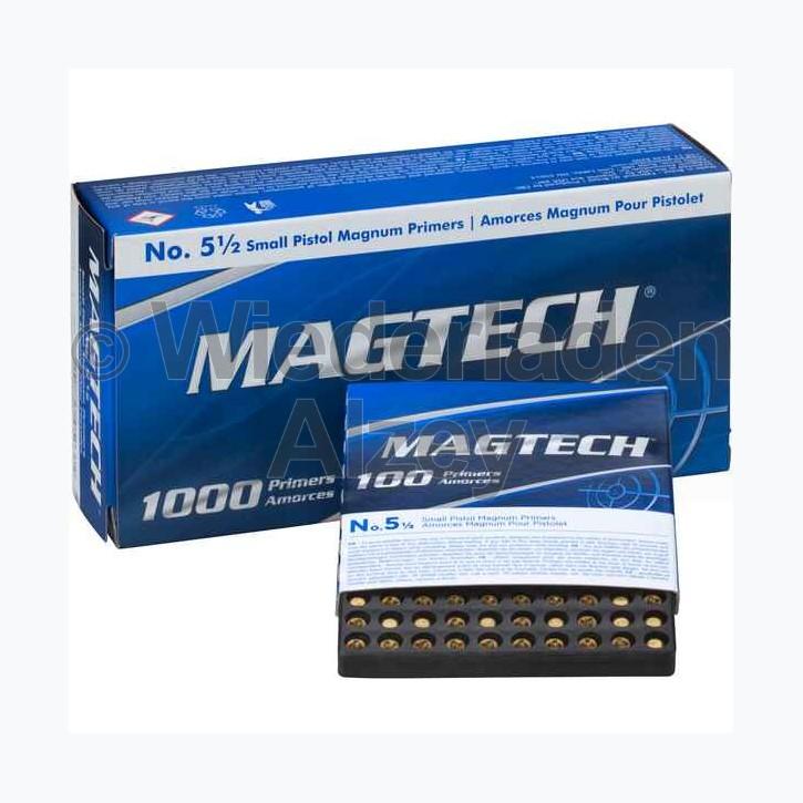 Magtech Zündhütchen, Small Pistol Magnum