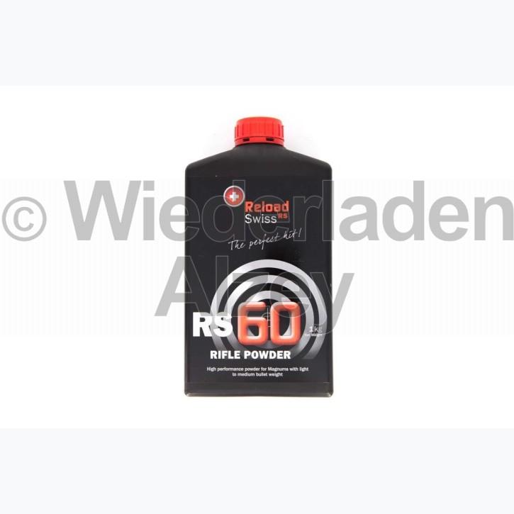 Reload Swiss RS60, Dose mit 1000 Gramm