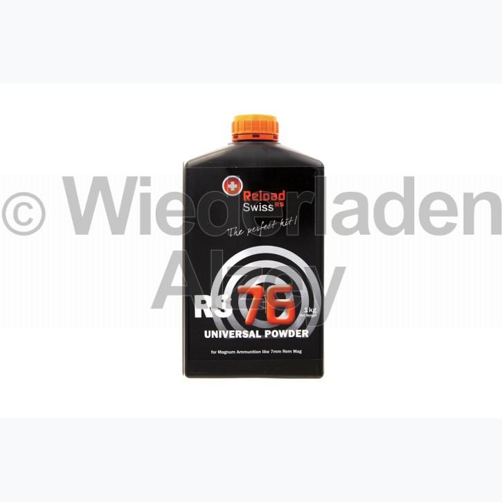 Reload Swiss RS76, Dose mit 1000 Gramm