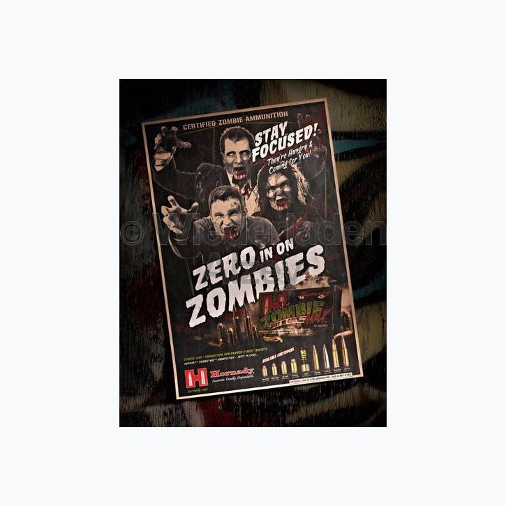 "Hornady  Poster ""Zombie"", Art.-Nr.: 98100"