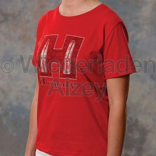 Hornady T-Shirt Youth Red, Größe S, Art.-Nr.: 99592S