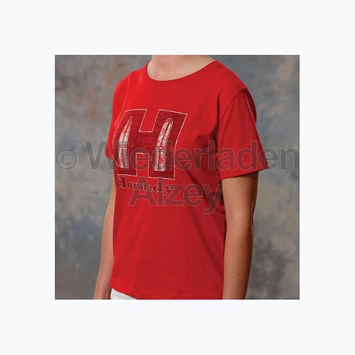 Hornady T-Shirt Youth Red, Größe XL, Art.-Nr.: 99592XL