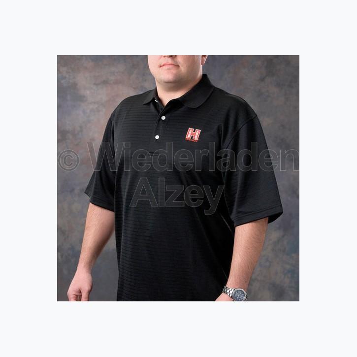 Hornady Polo-Shirt, schwarz, Größe L, Art.-Nr.: 9971L