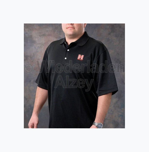 Hornady Polo-Shirt, schwarz, Größe M, Art.-Nr.: 9971M