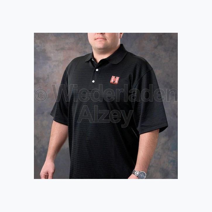 Hornady Polo-Shirt, schwarz, Größe XL, Art.-Nr.: 9971XL