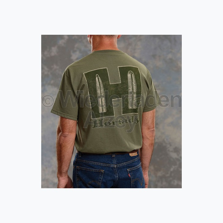"Hornady T-Shirt ""Sage & Tan"", Größe XXL, Art.-Nr.: 9974XXL"