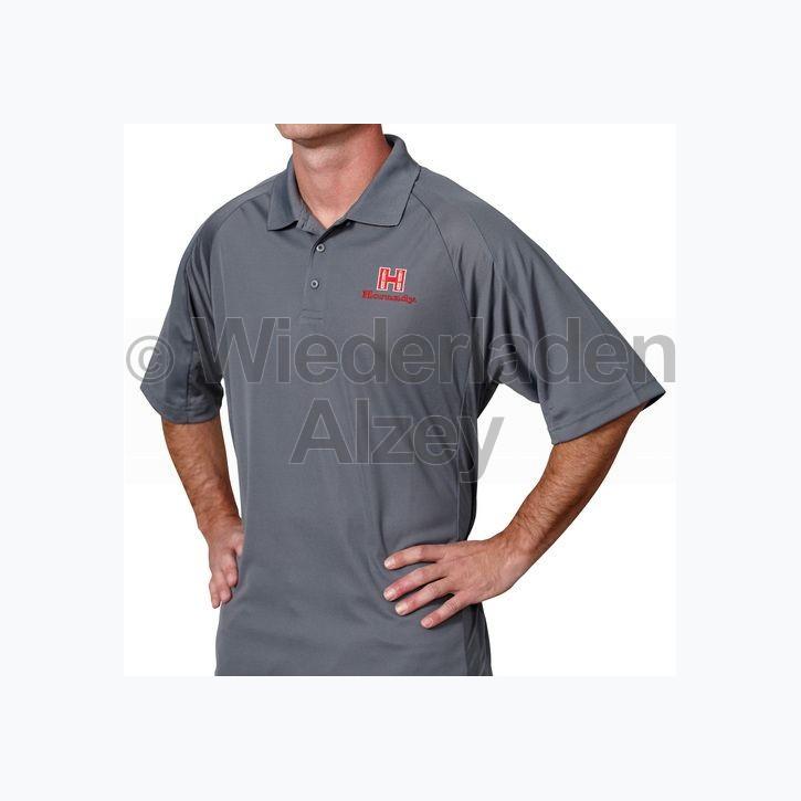 Hornady Herren Poloshirt, grau, Größe L, Art.-Nr.: 99774L