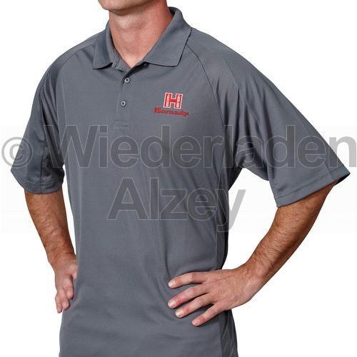 Hornady Herren Poloshirt, grau, Größe XXL, Art.-Nr.: 99774XXL