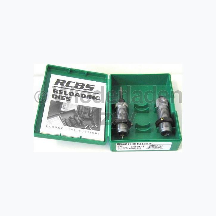 6 mm PPC, RCBS Matrizensatz, Art.Nr.: 22601
