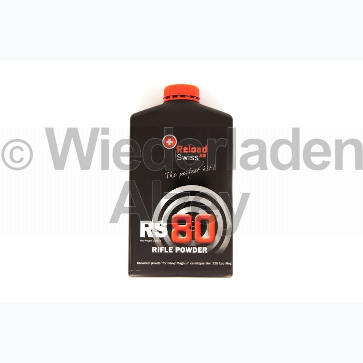 Reload Swiss RS80, Dose mit 1000 Gramm