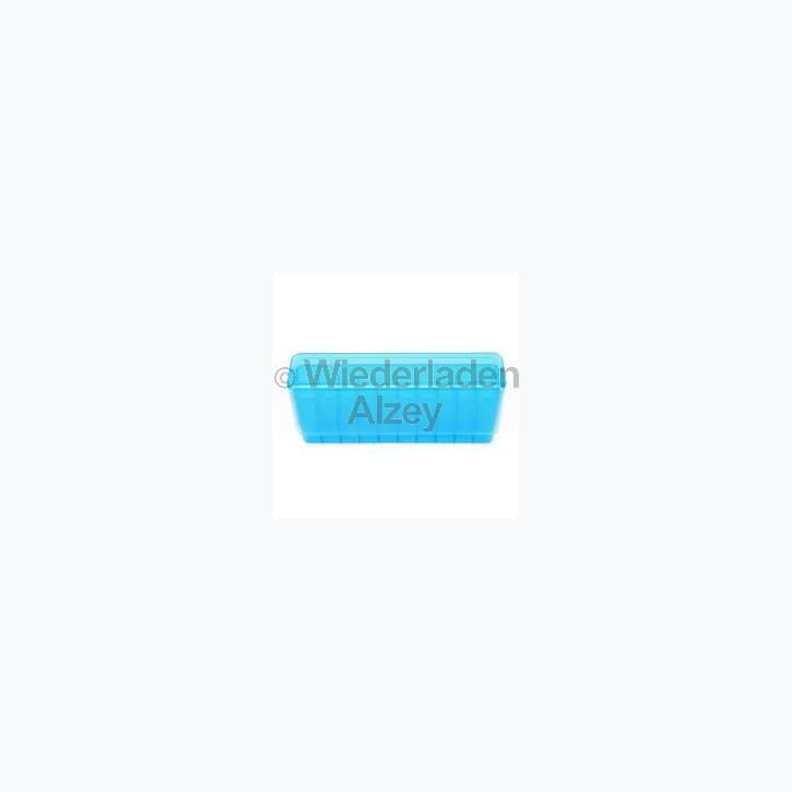 20er Dillon Patronenbox, Stülpdeckel, klar-blau, .308 Win., Art.-Nr.: 80039