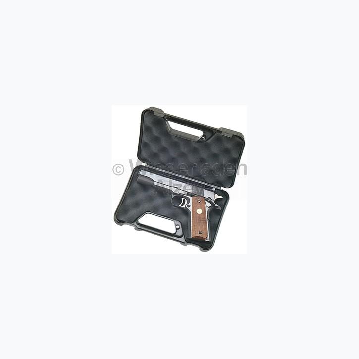 """MTM, Aufbewahrungskoffer aus Kunststoff für Kurzwaffen bis 3"""", Farbe schwarz, Art.-Nr.: 80340"""