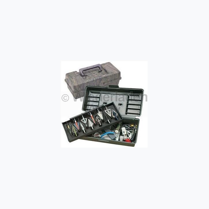 MTM, Aufbewahrungsbox für Pfeil- und Bogenzubehör, mit herausnehmbaren Pfeilhalter, Größe ca. 30 x 13 x 11 cm, Farbe Camo, Art.-Nr.: BH-12-09