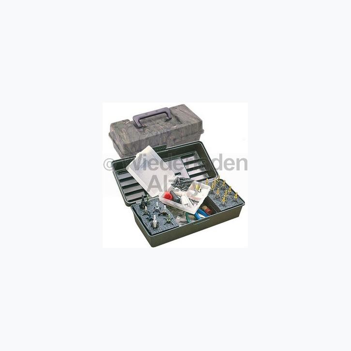 MTM, Aufbewahrungsbox für Pfeil- und Bogenzubehör, mit herausnehmbaren Pfeilhalter, Größe ca. 30 x 13 x 11 cm, Farbe Camo, Art.-Nr.: BH-20-09