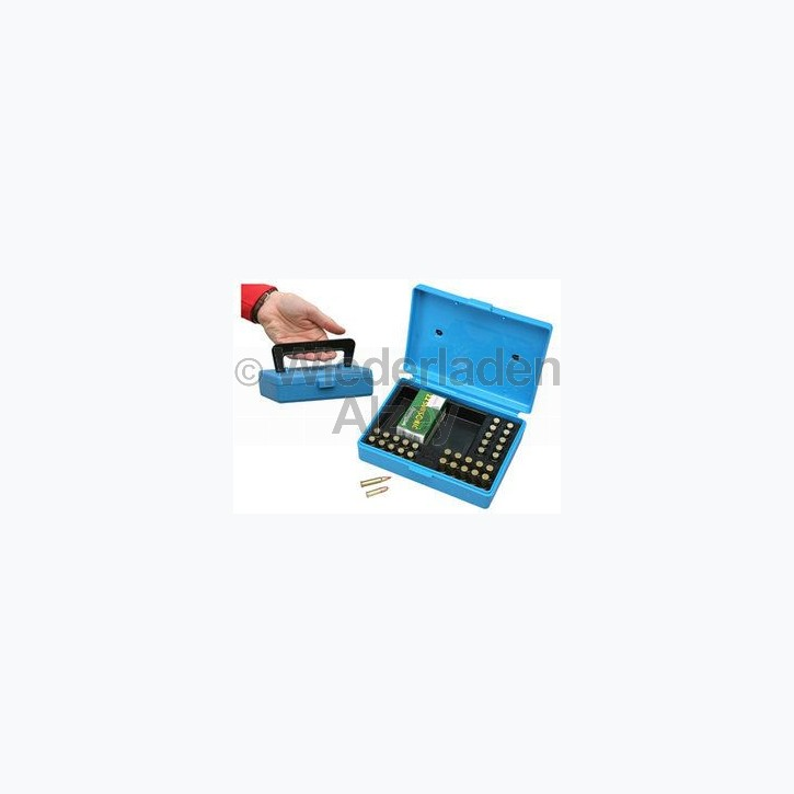MTM Competition Box für 130 Patronen .22 lr., blau, Art.-Nr.: SB-22-20