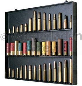 MTM, Patronendisplay für Patronen, oder sonstige Artikel, Größe ca. 40 x 33 x 3 cm, Farbe schwarz, Art.-Nr.: CBD-1-40
