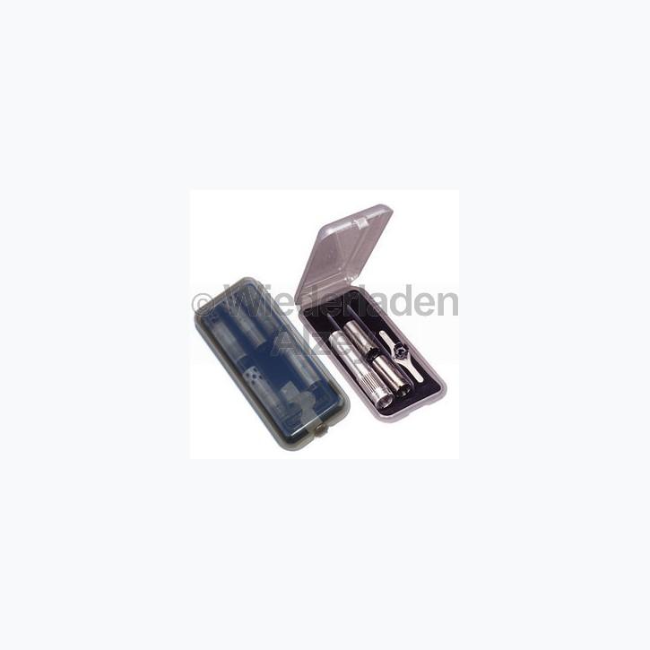 MTM Choke Aufbewahrungsbox, für 10, 12, oder 20 gauge mit einer max. Länge von 190 mm, Farbe rauch-klar, Art.-Nr.: CT9-41