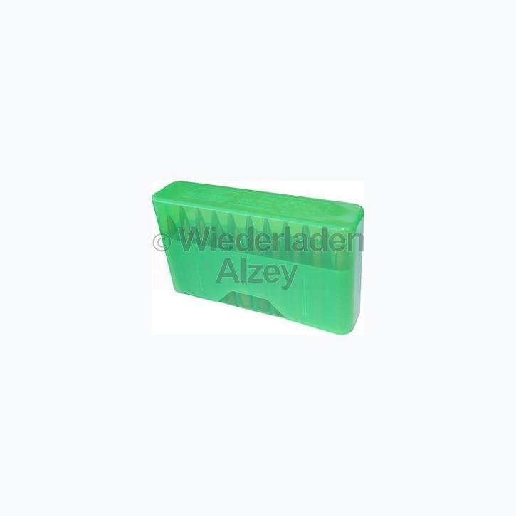 20er MTM Patronenbox, Stülpdeckel, grün, Größe XS für .17 / .222 / .223 ...