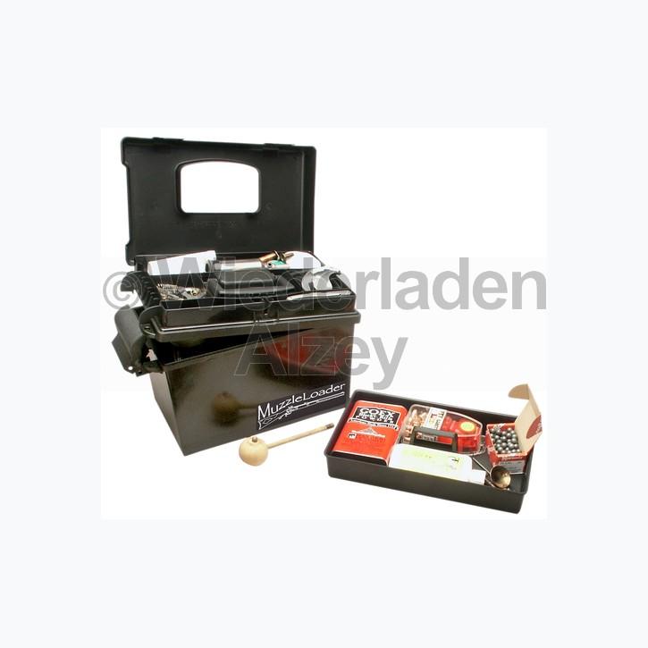 MTM, wasser- und witterungsbeständige Transportbox mit Fächereinsatz im Deckel und Einsatz zum herausnehmen, Größe 33 x 22 x 24 cm, Schwarz, O-Ring gedichtet, Art.-Nr.: ML140