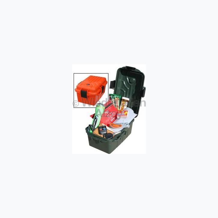 MTM, wasser- und witterungsbeständige Transportbox, Größe 25 x 17 x 12 cm, Grün, mit Kompass, O-Ring gedichtet, Art.-Nr.: S1074-11