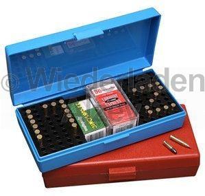 MTM Competition Box für 100 Patronen .22 lr., blau, Art.-Nr.: SB-200-20