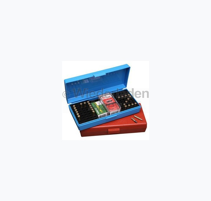 MTM Competition Box für 100 Patronen .22 lr., rotbraun, Art.-Nr.: SB-200-32