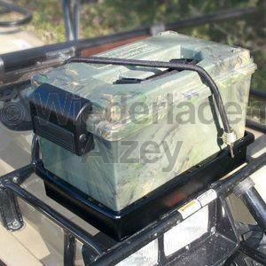 MTM, wasser- und witterungsbeständige Transportbox, Größe 39 x 21,5 x 24 cm, Camo, O-Ring gedichtet, Art.-Nr.: SDB-0-09