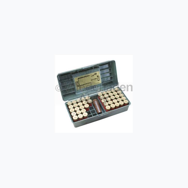 MTM, Schrotpatronenbox für 50 Patronen .20, Camo, Art.-Nr.: SF-50-20-09