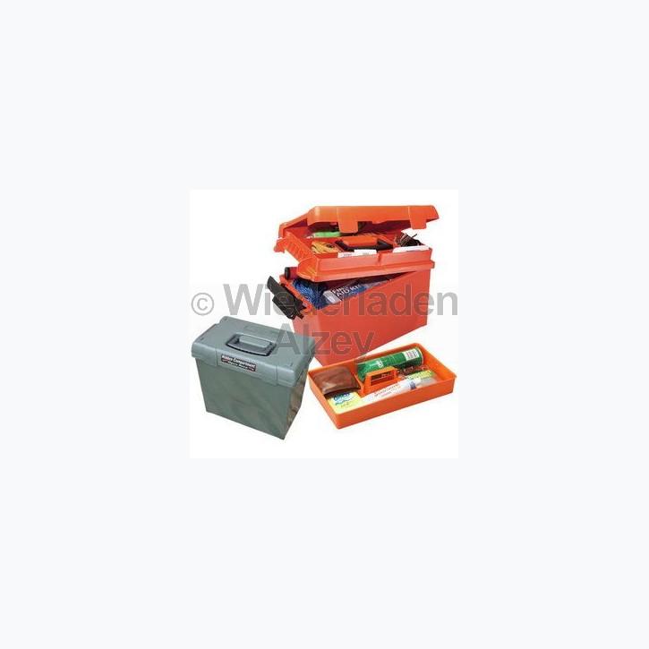 MTM, wasser- und witterungsbeständige Transportbox, Größe 39 x 21,5 x 24 cm, Waldgrün, O-Ring gedichtet, herausnehmbares Innenteil,  Art.-Nr.: SPUD-1-11
