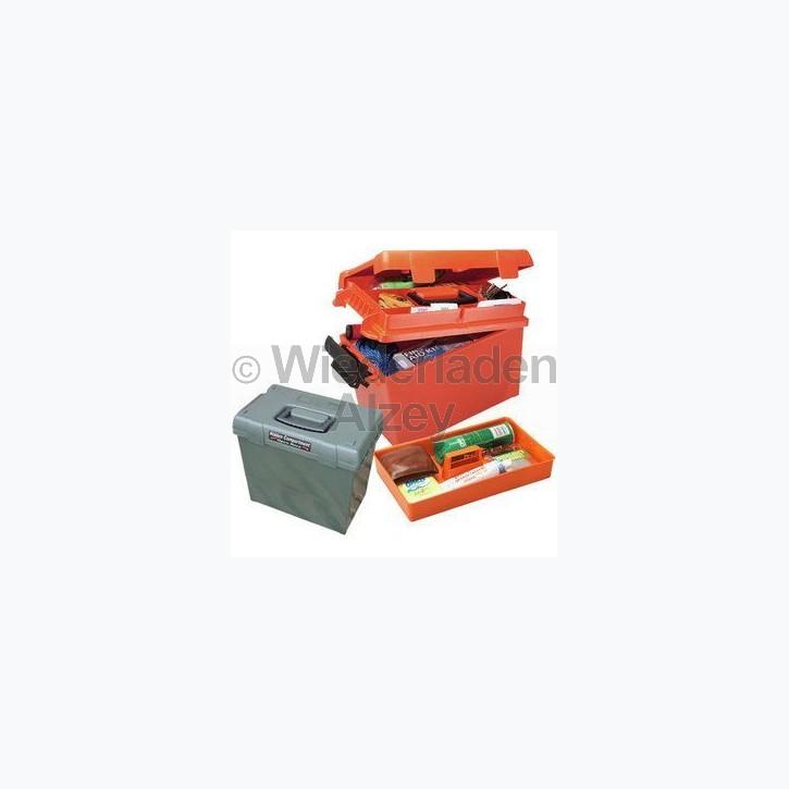 MTM, wasser- und witterungsbeständige Transportbox, Größe 39 x 21,5 x 24 cm, Orange, O-Ring gedichtet, herausnehmbares Innenteil,  Art.-Nr.: SPUD-1-35
