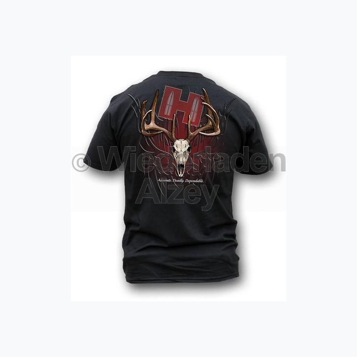 "Hornady T-Shirt  "" TRIBAL SKULL "" , Größe M, Art.-Nr.: 91115183M"
