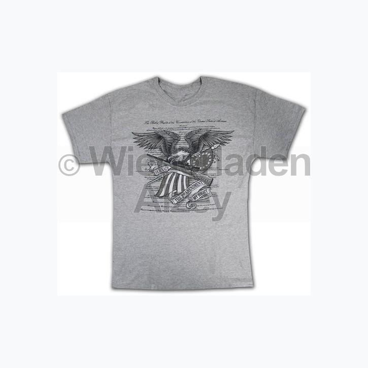 """Hornady T-Shirt  """" 2ND AM EAGLE """" , Größe M, Art.-Nr.: 91115186M"""