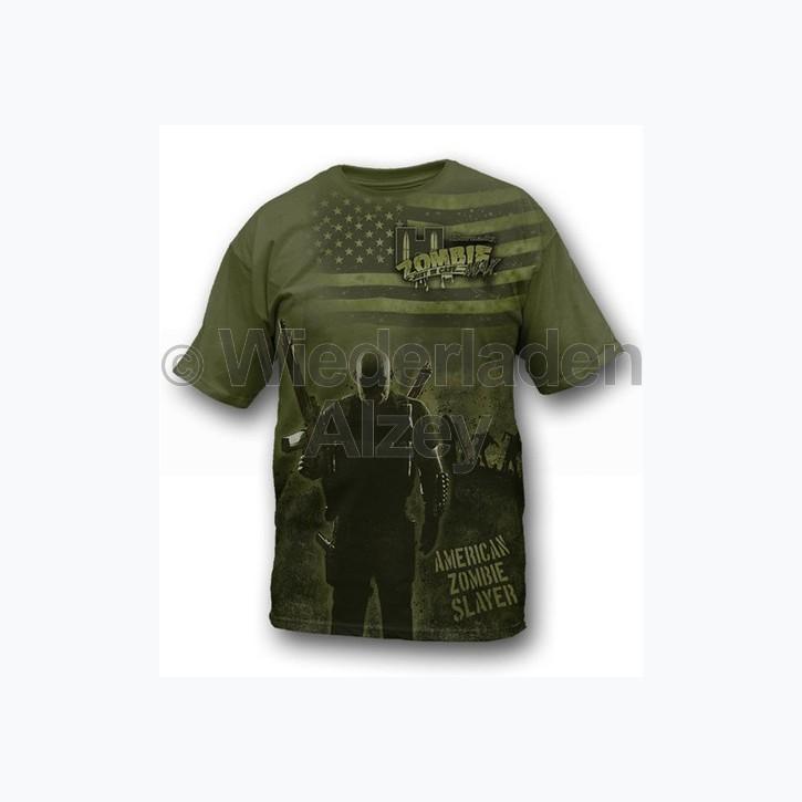 """Hornady T-Shirt  """" ZOMBIE PANDEMICS S """" , Größe XL, Art.-Nr.: 91115428XL"""